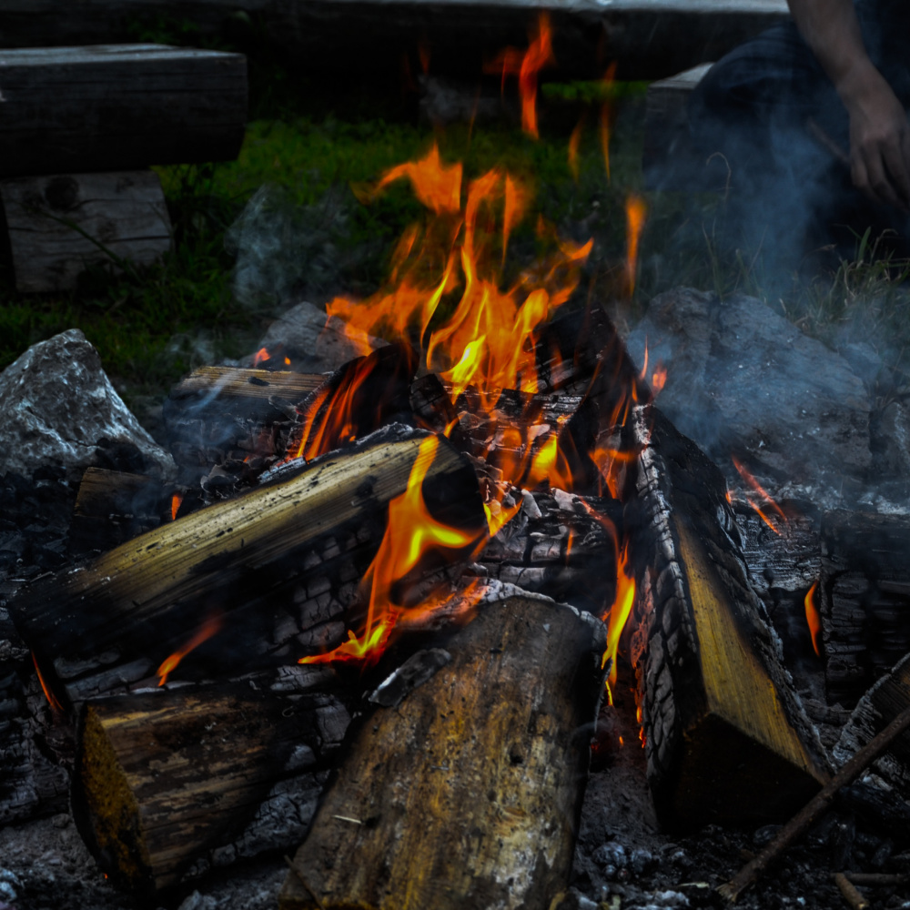 Lagerfeuer (selbst)