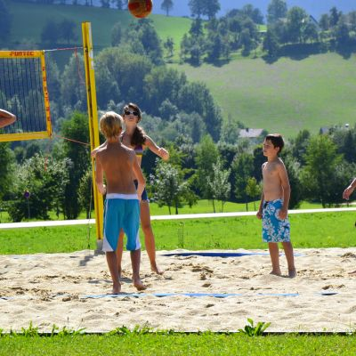 Beachvolleyball am Lindenhof